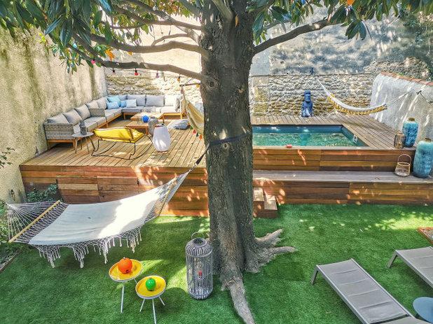 Contemporain Jardin by La Nostra Secrets d'Intérieur