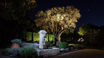Un jardin classique au pied du Ventoux