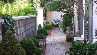 Une villa à Paris, esprit cottage