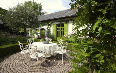 Suivez le Guide : Le jardin romantique de Dina