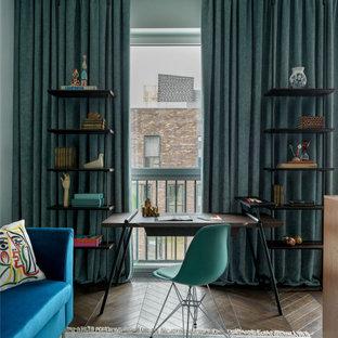 Идея дизайна: кабинет в современном стиле