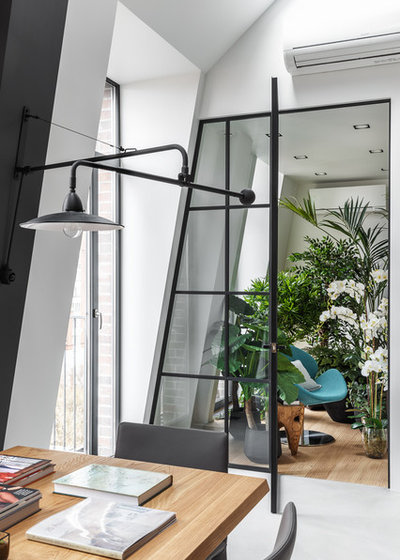 Contemporary Home Office by Design Rocks