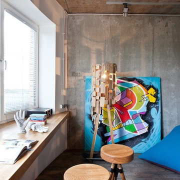 Бетонная однушка   Small beton apartments