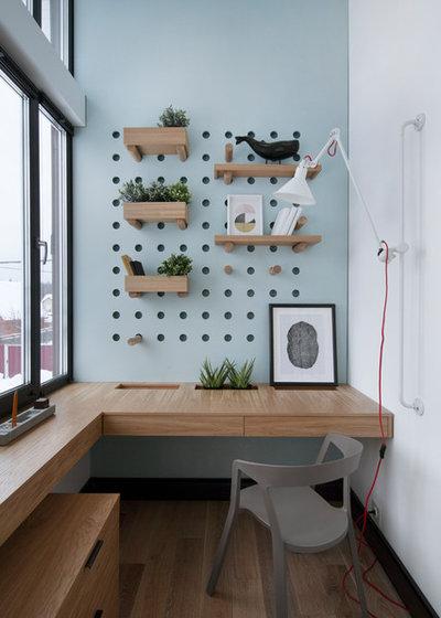 Современный Кабинет by Ze|Workroom Studio