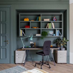 Стильный дизайн: кабинет в стиле современная классика - последний тренд