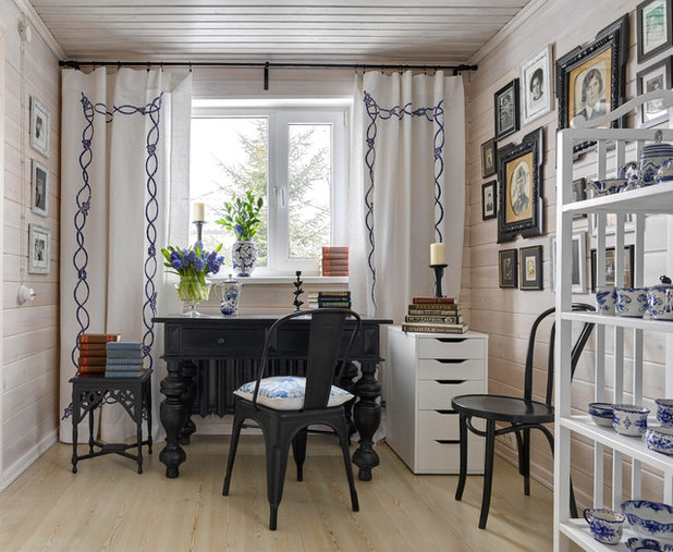 Shabby-chic Style Home Office by Lavka-Design