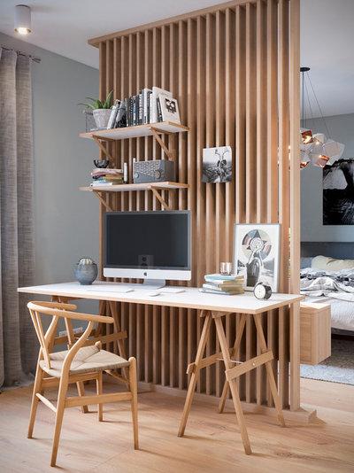Classique Chic Bureau à domicile by WizArt3d