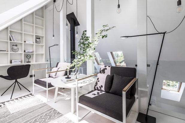 Современный Кабинет by Архитектурная студия Ruetemple