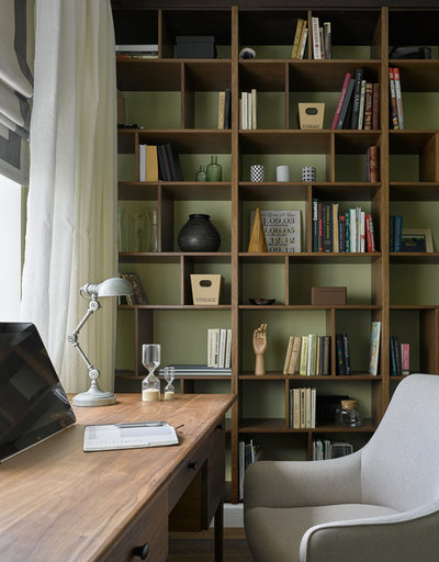 Fusion Home Office & Library by Студия Enjoy Home