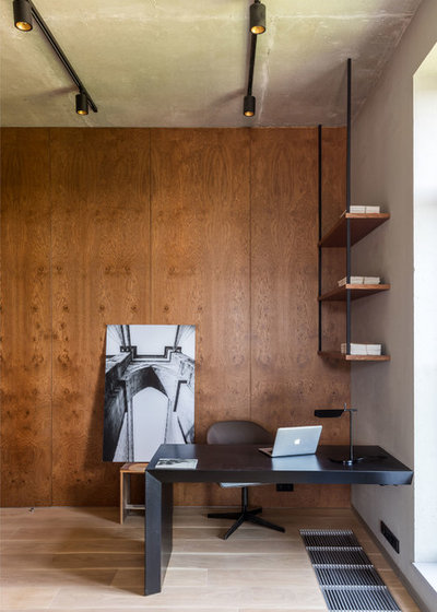 Industrial Home Office by МК-Интерио