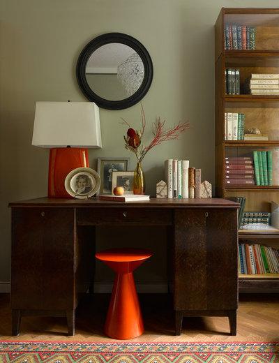 Ретро Кабинет by Инна Зольтманн | Дизайн и Декорирование интерьеров