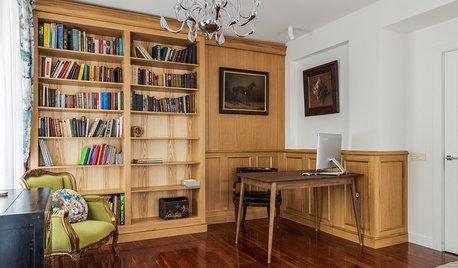 Houzz тур: Дореволюционный дом, где мебель расставляли по фэн-шуй