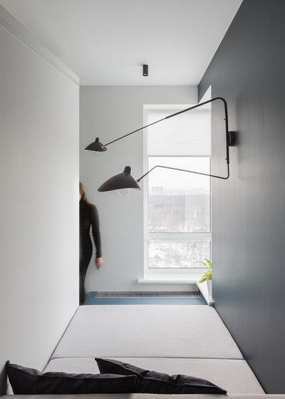 Современный Кабинет by SHKAF interior architects