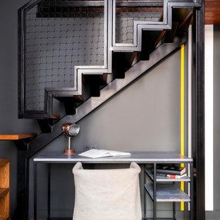 Идея дизайна: кабинет в стиле лофт