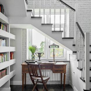 Неиссякаемый источник вдохновения для домашнего уюта: кабинет в классическом стиле