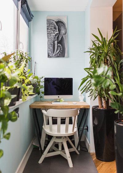Contemporain Bureau à domicile by Ольга Шангина | Photography