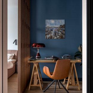 Стильный дизайн: маленький кабинет в современном стиле - последний тренд