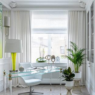 Источник вдохновения для домашнего уюта: кабинет в классическом стиле