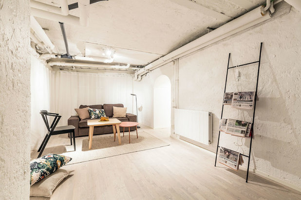 Scandinave Sous-sol by VRÅ homestyling