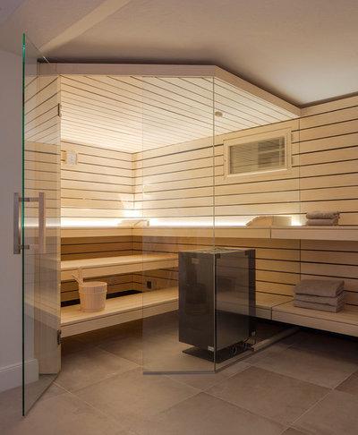 Vorher Nachher Vom Kargen Luftschutzbunker Zur Design Sauna