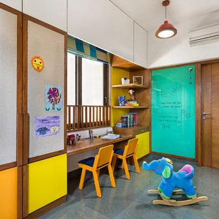 Asiatisk inredning av ett barnrum