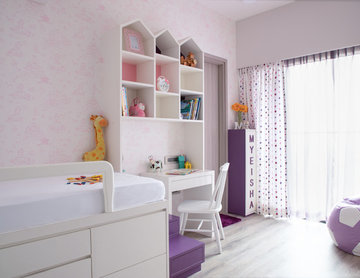 Concealed Storage Works for this Family's Compact 2BHK