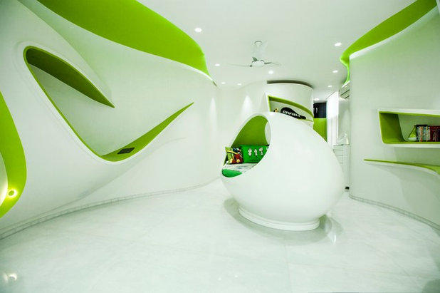 Eclectic Kids by Cadence Architects