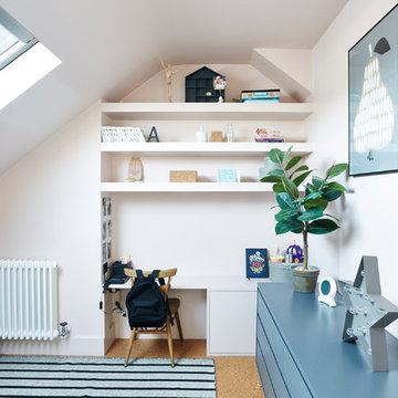 10. Attic bedroom