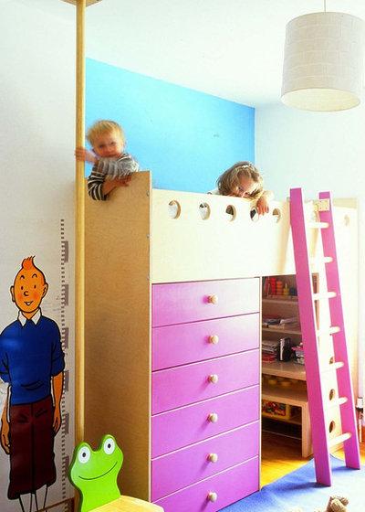 Contemporáneo Dormitorio infantil by Moon Architect and Builder
