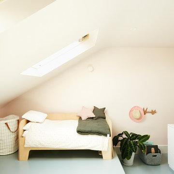 7. Attic bedroom