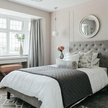 A glamorous teenage girl's bedroom