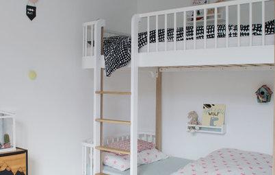 Chambre d'enfants de la Semaine : Pastel et Ikea hacks dans 16 m²