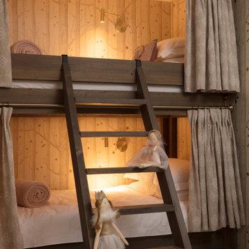 Chalet bunk room