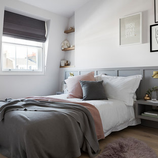 This is an example of a scandinavian kids' room in London.