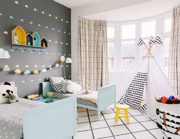 Children's bedroom in West London, designed for a boy or a girl