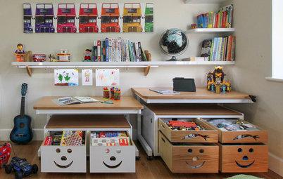 Cómo aprovechar cada centímetro del dormitorio de los niños