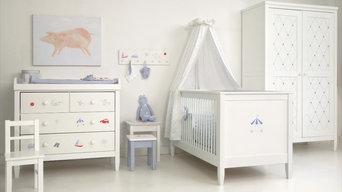 Contemporary Baby Boy Nursery