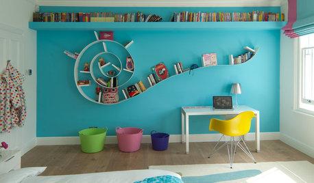 Förvaring: 10 kreativa lösningar i barnens rum