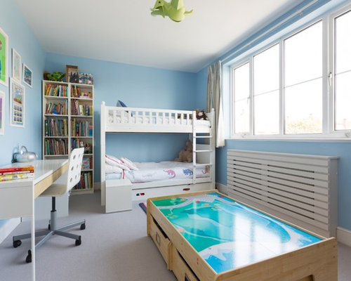 Small kids bedroom houzz - Space saving ideas for small kids bedrooms plan ...