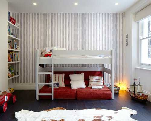 Inspiration for a contemporary kids  bedroom remodel in London with  multicolored walls. Master Bedroom Sitting Room Ideas   Houzz
