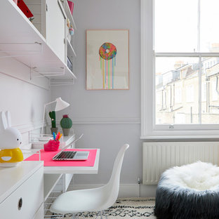 Gemma's Tween Bedroom, Little Venice Town House, London by Born & Bred Studio