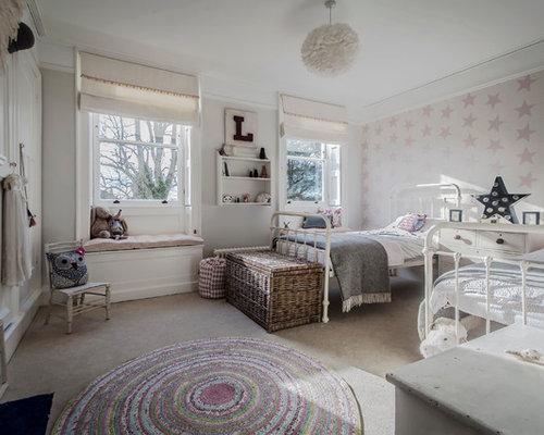 Kids 39 room design ideas renovations photos - Cameretta shabby chic ...