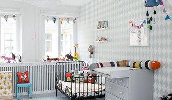 Harlequin Wallpaper Grey