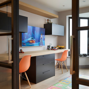 Industrial Luxe Family Home, Earlsfield
