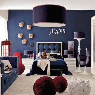 This is an example of a contemporary kids' room in London.