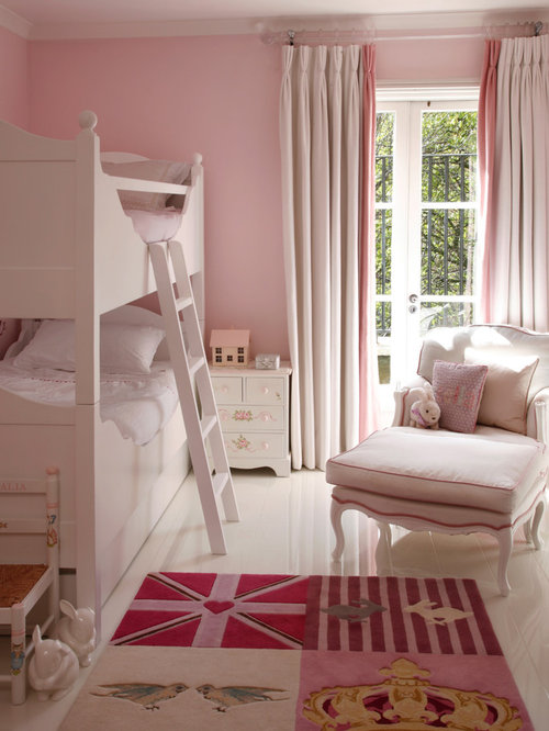 Victorian Youth Bed : Pink bedroom houzz