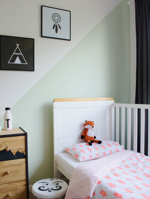 kleine skandinavische kinderzimmer design ideen bilder beispiele houzz. Black Bedroom Furniture Sets. Home Design Ideas