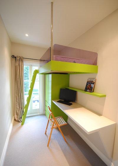 Contemporáneo Dormitorio infantil by Creative Woodwork Ltd