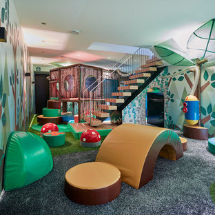 London Basement Playroom