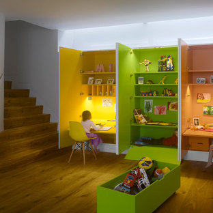 Contemporary kids' room in London.